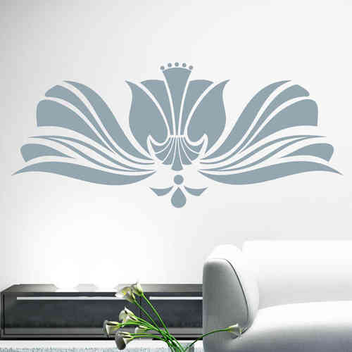 Blumen Ranke Ornament Design