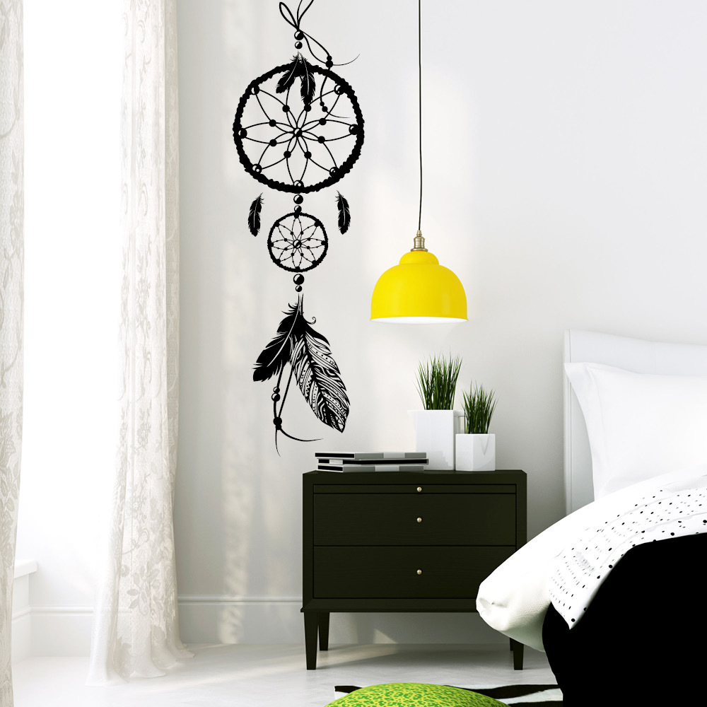 traumf nger wandtattoos. Black Bedroom Furniture Sets. Home Design Ideas