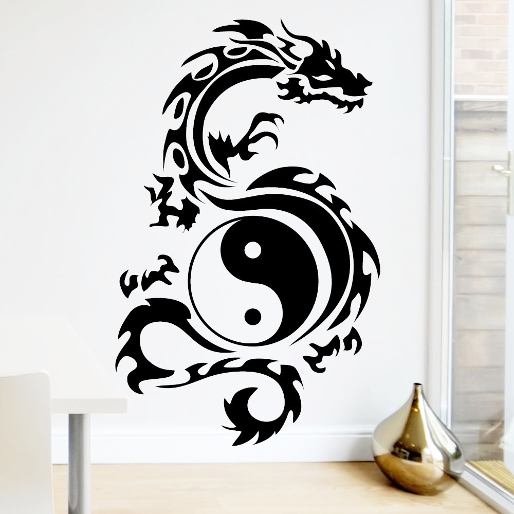 yin yang tribal designs bing images. Black Bedroom Furniture Sets. Home Design Ideas