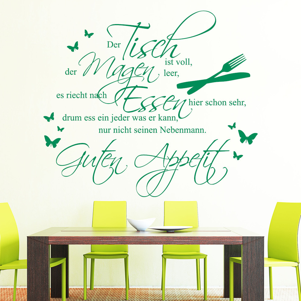 Spruch für Küche & Co - kitchen - Wall Decal