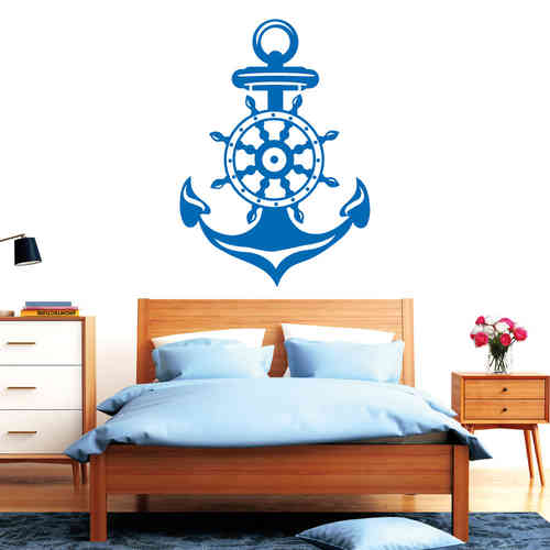maritimes wandtattoo loft wandsticker. Black Bedroom Furniture Sets. Home Design Ideas