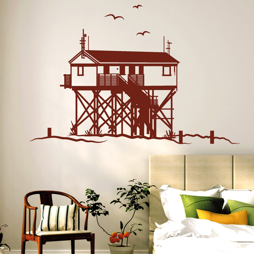 st peter ording pfahlbau wandtattoos. Black Bedroom Furniture Sets. Home Design Ideas