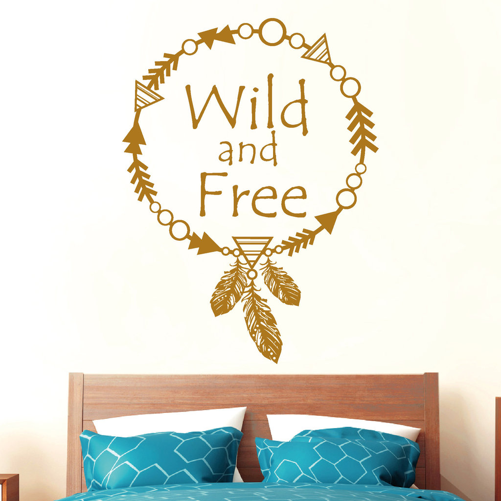 wild and free traumf nger wandtattoos. Black Bedroom Furniture Sets. Home Design Ideas