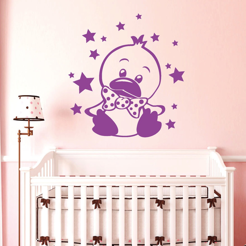 wandtattoo babyzimmer junge wandtattoo spruchbanner. Black Bedroom Furniture Sets. Home Design Ideas