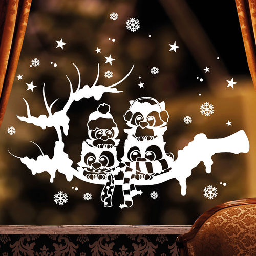 weihnachten wandtattoo loft wandsticker. Black Bedroom Furniture Sets. Home Design Ideas