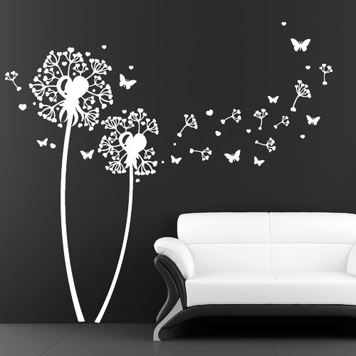 luminous aufkleber wandtattoo pusteblume wandsticker 28 images pusteblumen wandtattoo loft. Black Bedroom Furniture Sets. Home Design Ideas
