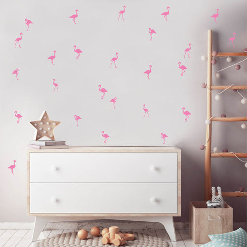 Flamingos (25teilig) Deko Set