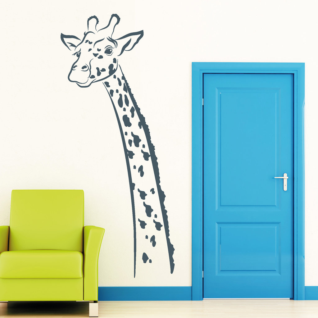 giraffe deko afrika safari wandtattoos. Black Bedroom Furniture Sets. Home Design Ideas