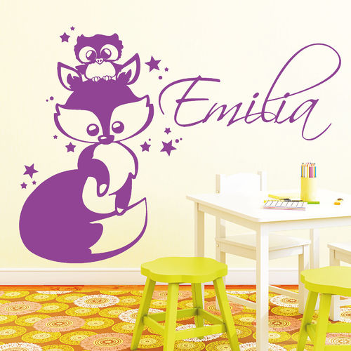 wandtattoo tiere wandtattoo loft wandsticker. Black Bedroom Furniture Sets. Home Design Ideas