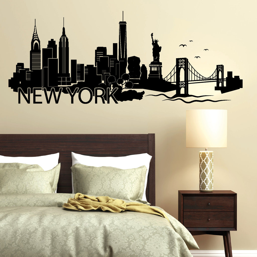 "Astounding Wandtattoo New York Galerie Von ""new York"" Skyline · """