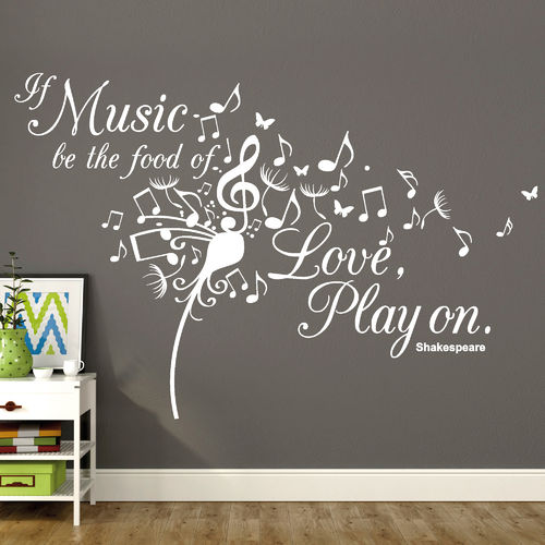 """If Music Be The Food of Love, Play on"""