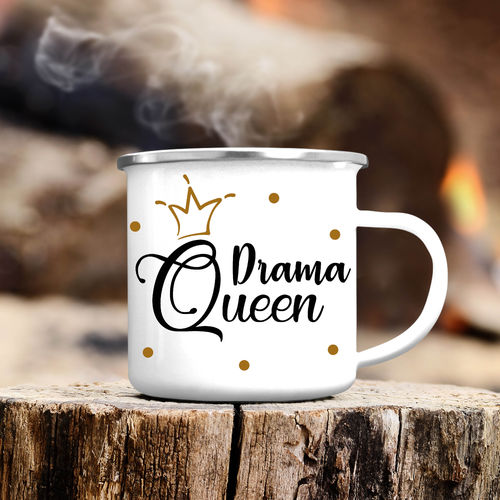"Campingbecher ""Drama Queen"""