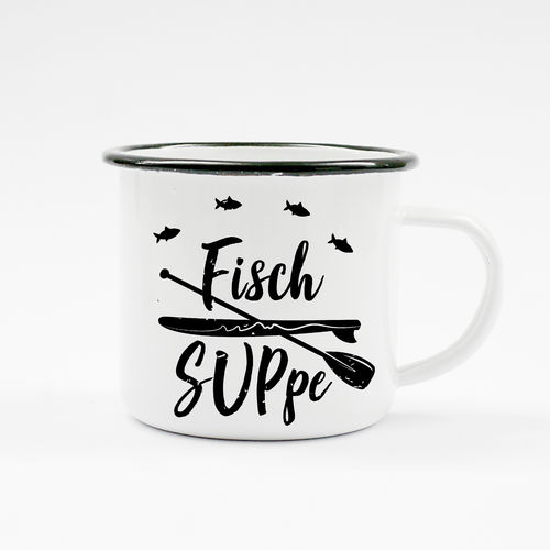 "Campingbecher ""Fisch SUPpe"" - SUP"