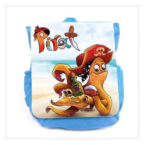 "Kinderrucksack ""Piraten Krake"""