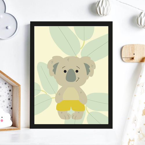 Print Illustration Kinderzimmer Poster Koala